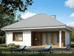 Desain Rumah Mewah Tampak Depan