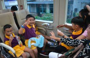 tiket kereta api untuk bayi